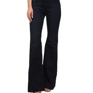 Gummy Denim Clean Mid Rise Flare Jeans